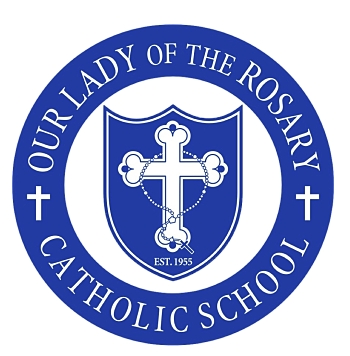 Our Lady of the Rosary School Mobile Logo