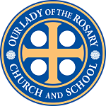 Our Lady of the Rosary School Logo